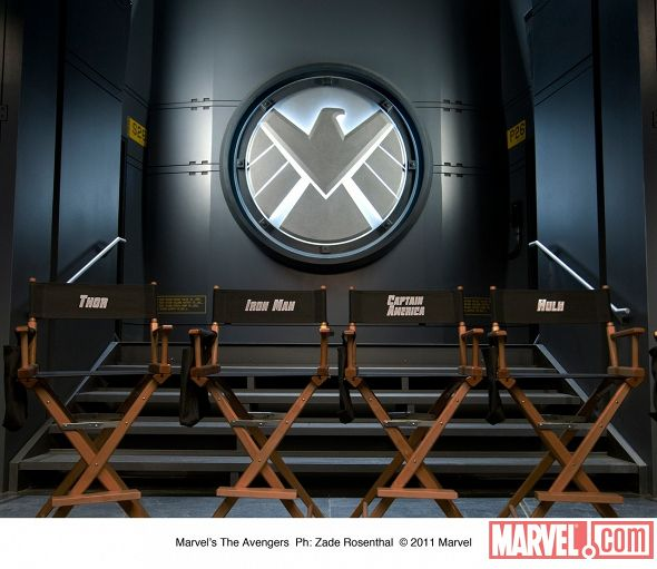 The First Image From The Avengers Movie Set