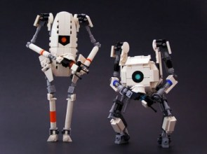 Lego Atlas and P-Body Robots