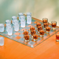 Shot Glass Checkers Set – Full Sized
