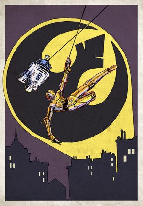 R2-D2 and C-3PO Are Batman and Robin