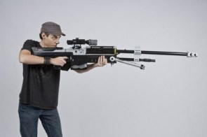 Life-Sized Halo Sniper Rifle Made From LEGO