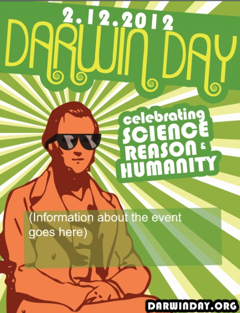 Darwin Day Flyer template by GeneticMishap on deviantART