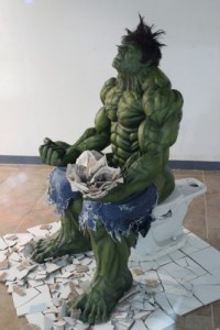 HULK SMASH TOILET