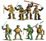 New Teenage Mutant Ninja Turtle Action Figures Revealed