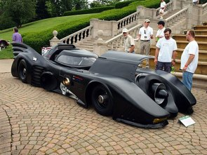 Man builds turbine-powered Batmobile