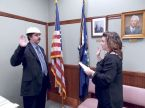 Pastafarian Wins Election to Town Board and Takes Oath with a Colander on His Head
