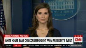 White House bans network pool reporter from Rose Garden event