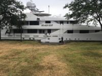 DeVos 40 million yacht vandalized at Huron dock