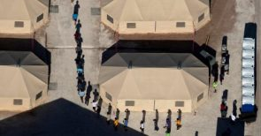 Migrant Children Moved Under Cover of Darkness to a Texas Tent City