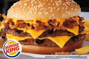 Burger King launches Philly cheesesteak burger  with a Whopper of a claim