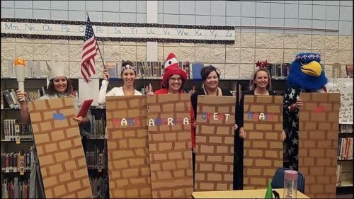 We are better than this Middleton teachers dress up as border wall Latinos for Halloween