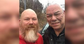 Colin Powell's important message about kindness after roadside help from disabled vet