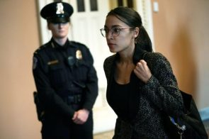 Alexandria Ocasio-Cortez claps back at conspiracy theory promoted by Sean Hannitys website that shes an actress