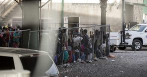 The US Is Holding Hundreds Of Shivering Immigrants In A Pen Underneath A Texas Bridge