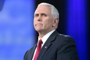 BREAKING: Mike Pence Has Locked Himself In A Closet Until He Finds A Bible Passage Endorsing Toddler Cages