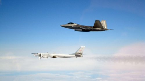 For second day in a row US military jets intercept Russian bombers off Alaska