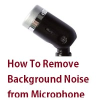 How To Remove Background Noise from Microphone (Windows PC)