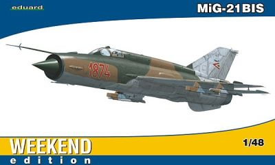 Internet Modeler Eduard 1/48 Mig-21bis Weekend Edition