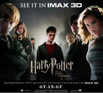 Harry Potter and the Order of the Phoenix Poster #2