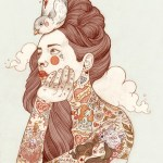 Tattoo inspired art by Liz Clements (10)