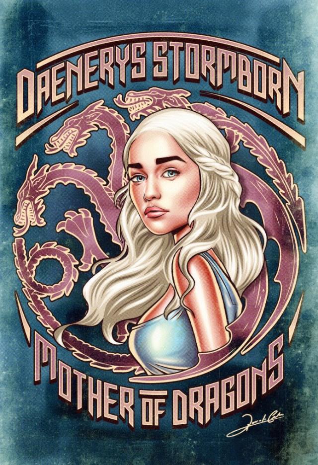 daenerys_stormborn_Pin_Up_Movie_Posters