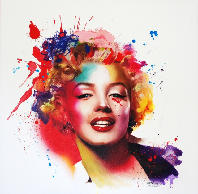 Marilyn Monroe Illustration by Isabel Salvador