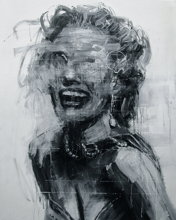 Marilyn Monroe Illustration by Kim Byungkwan