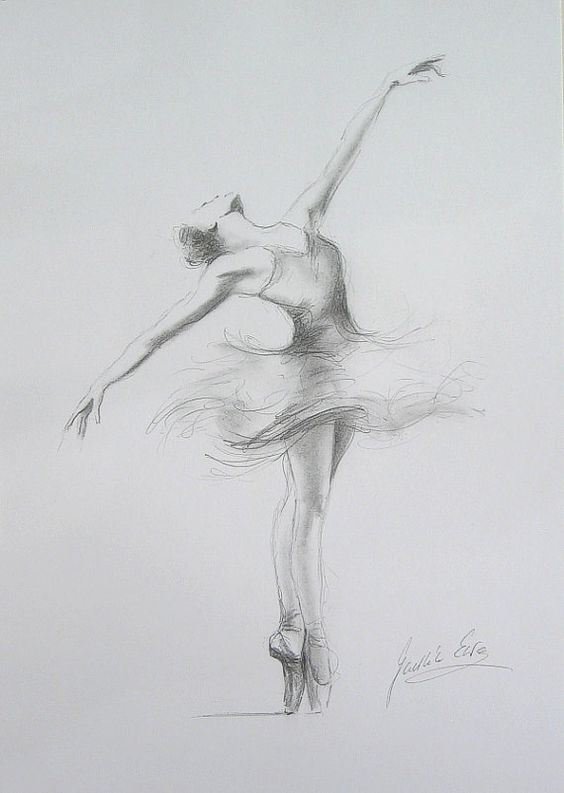 Paintings and Illustrations of Ballet Dancers (3)