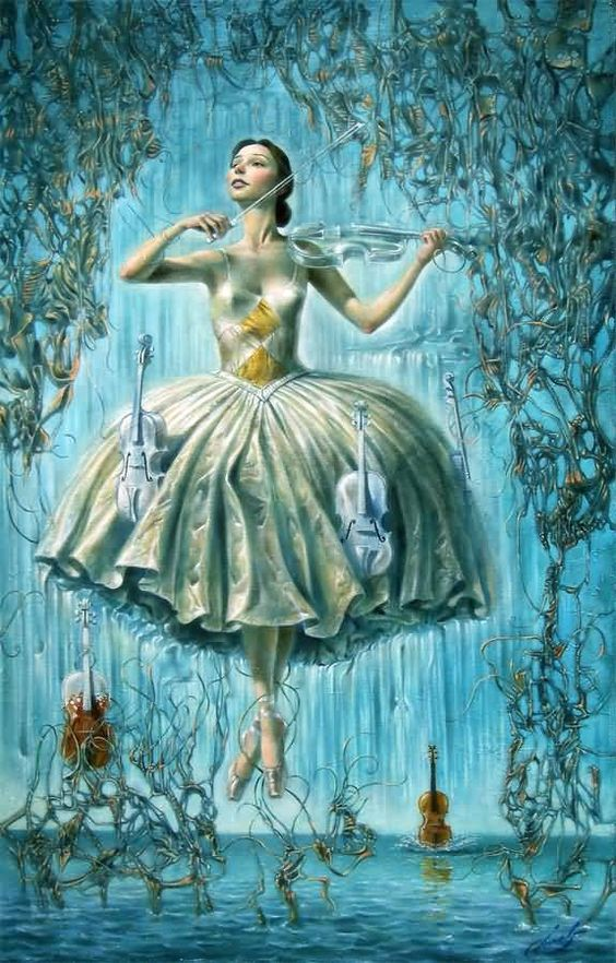 Paintings and Illustrations of Ballet Dancers1