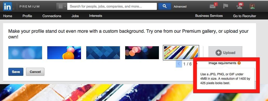 3 Tips for the Optimal LinkedIn Background Image Intero Advisory