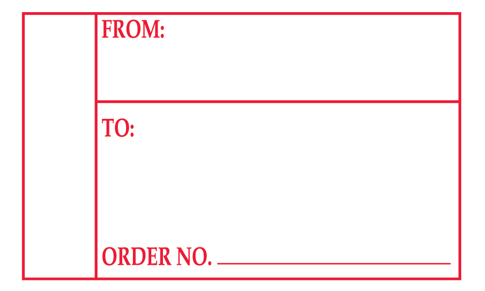 Order Number\ - Address Label