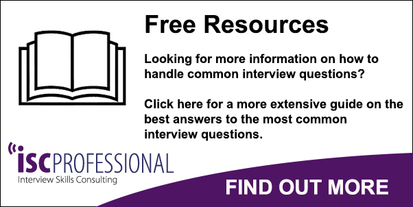 ISC Professional - Interview guide - answers to common interview - Best Interview Answers