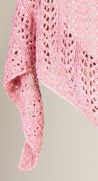 An Easy Lace Knitting Pattern: The Sausalito Shawl ...