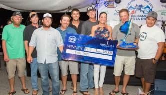 Fish Tank Wins Quepos Cup 2016