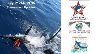 Tournament Updates July 22-24, 2016