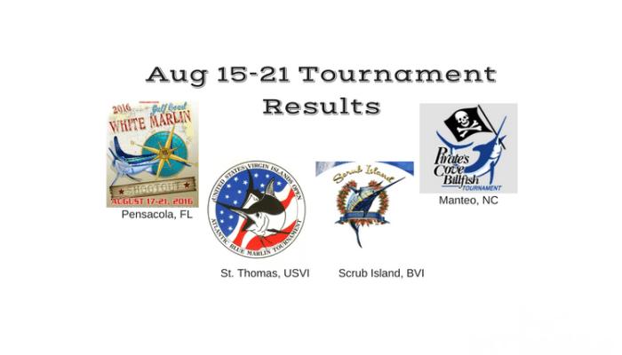 Aug 15-21Update – Gulf Rascal & Uno Mas Winners