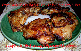 Oven Roasted Chicken Thighs or Fırında Tavuk But - In The ...