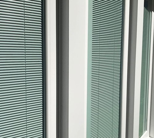 Medium Of Windows With Built In Blinds