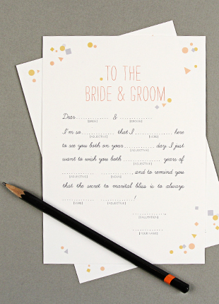 Free Wedding Printables for Your DIY Wedding