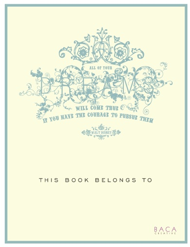 Free Book Plate Templates - bookplate template word