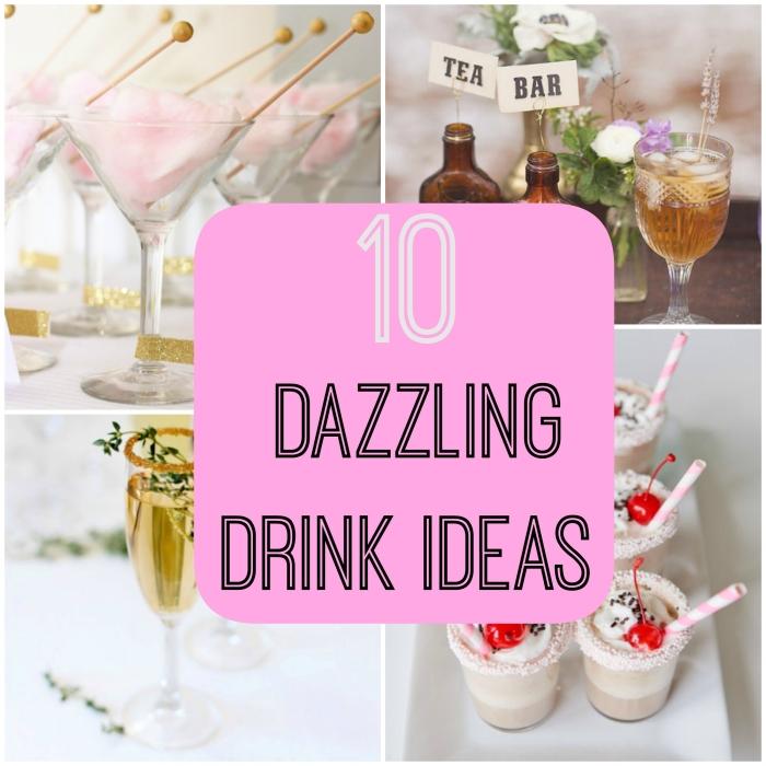 10 cách giúp bạn làm nổi bật đồ uống trong lễ cưới.