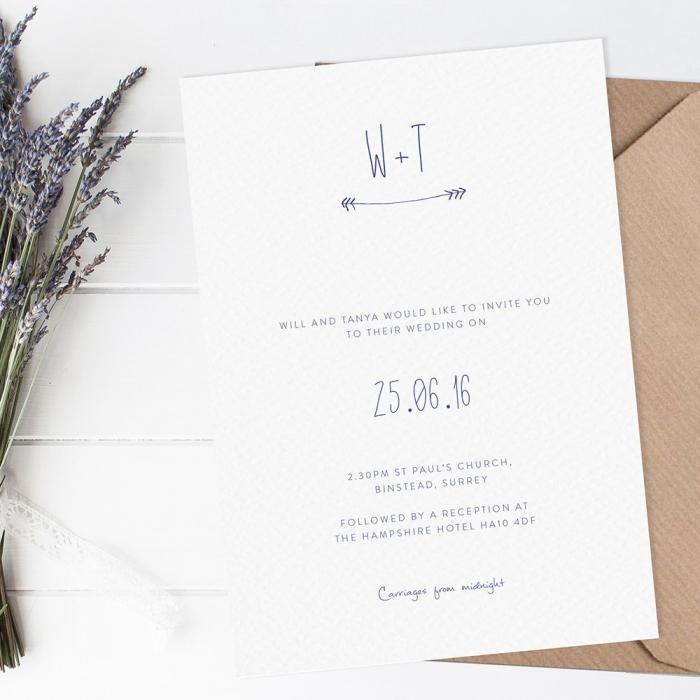 12 Bold and Modern Wedding Invitation Designs Intimate Weddings