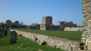 Hampshire History Project at Portchester Castle the most complete Roman fort in Northern Europe
