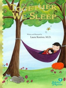 Co-sleeping picture book