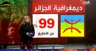 ديمغرافية الجزائر على قناة الحدث