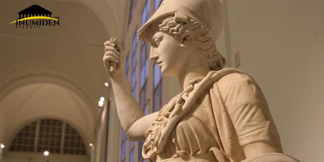 لباس الإلهة أثينا مستوحى من لباس النساء الليبيات