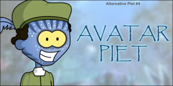 Alternative Zwarte Avatar