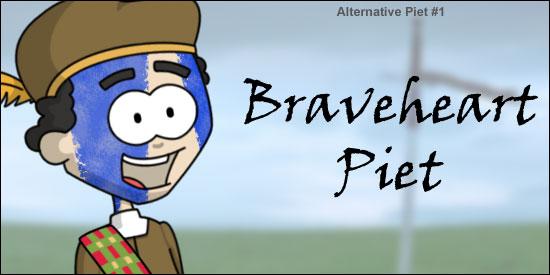 Alternative Zwarte Piet Braveheart