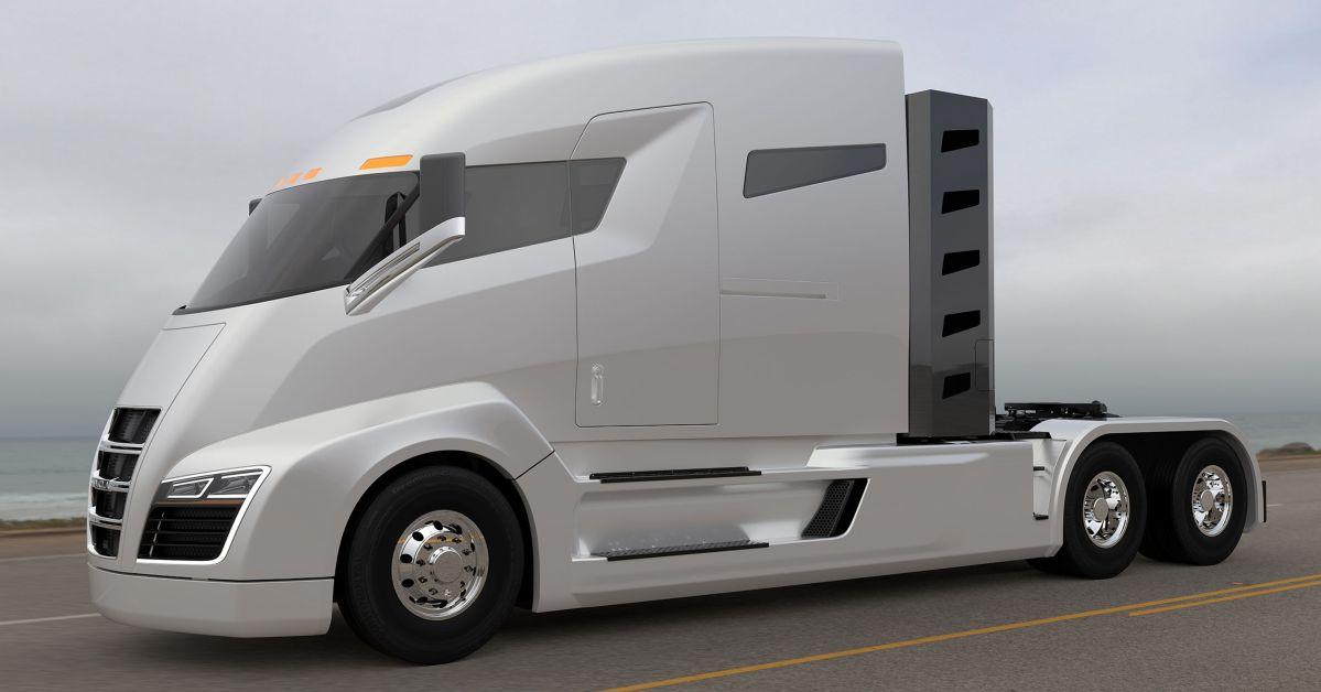 Camión Nikola One con motor eléctrico - Inventos y Gadgets