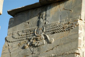 Ahura Mazda otra antiqu%C3%ADsima deidad voladora 300x200 - Apkallus o Anunnakis los antiguos dioses sumerios